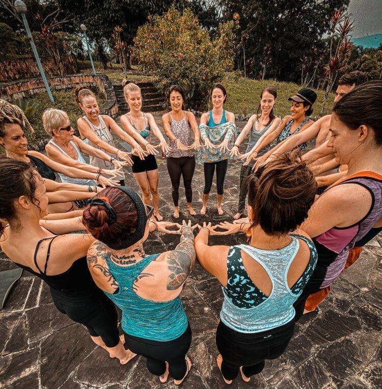 Moksha Yoga Amazonica Yoga Detox Peru peru yoga Vincent Roy