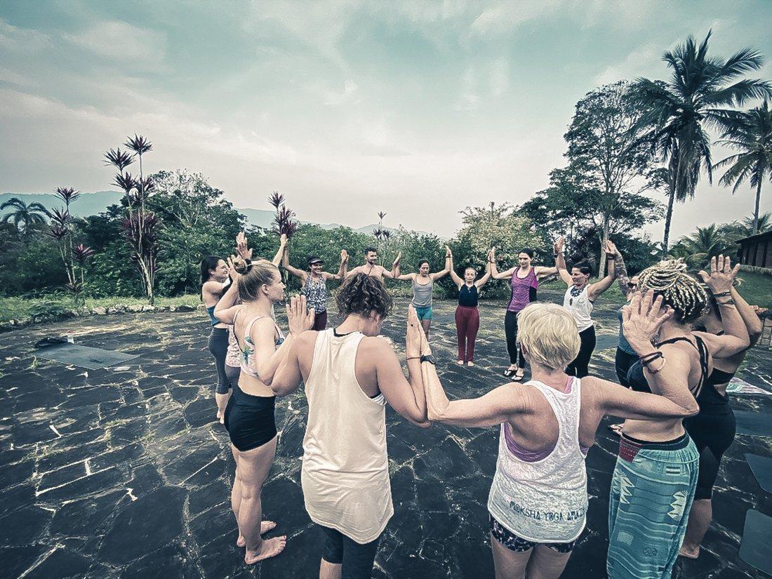 Moksha Yoga Amazonica Yoga Detox Vincent Roy Peru Jungle YTT