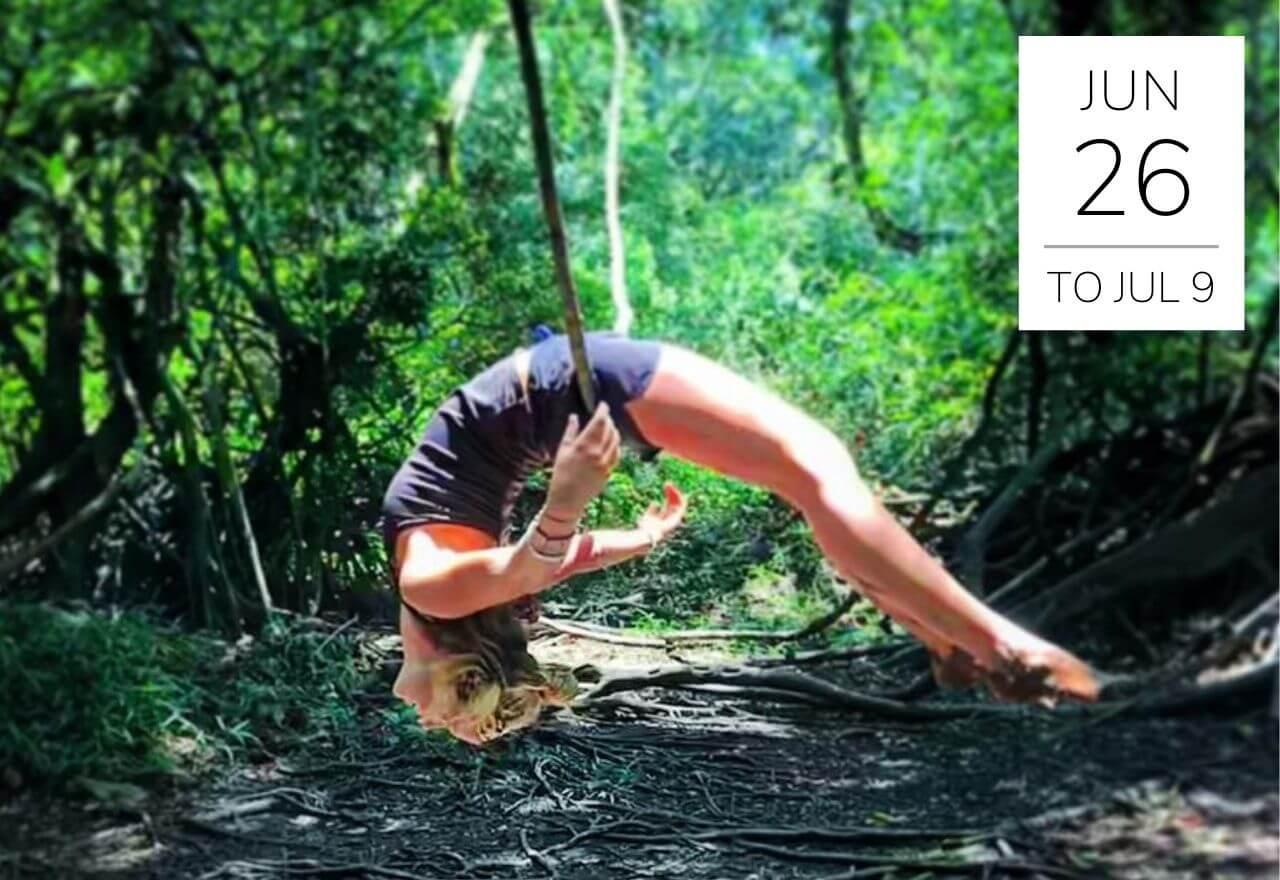Amazon jungle Yoga Teacher Training Moksha Yoga Amazonica Vincent Roy yoga detox