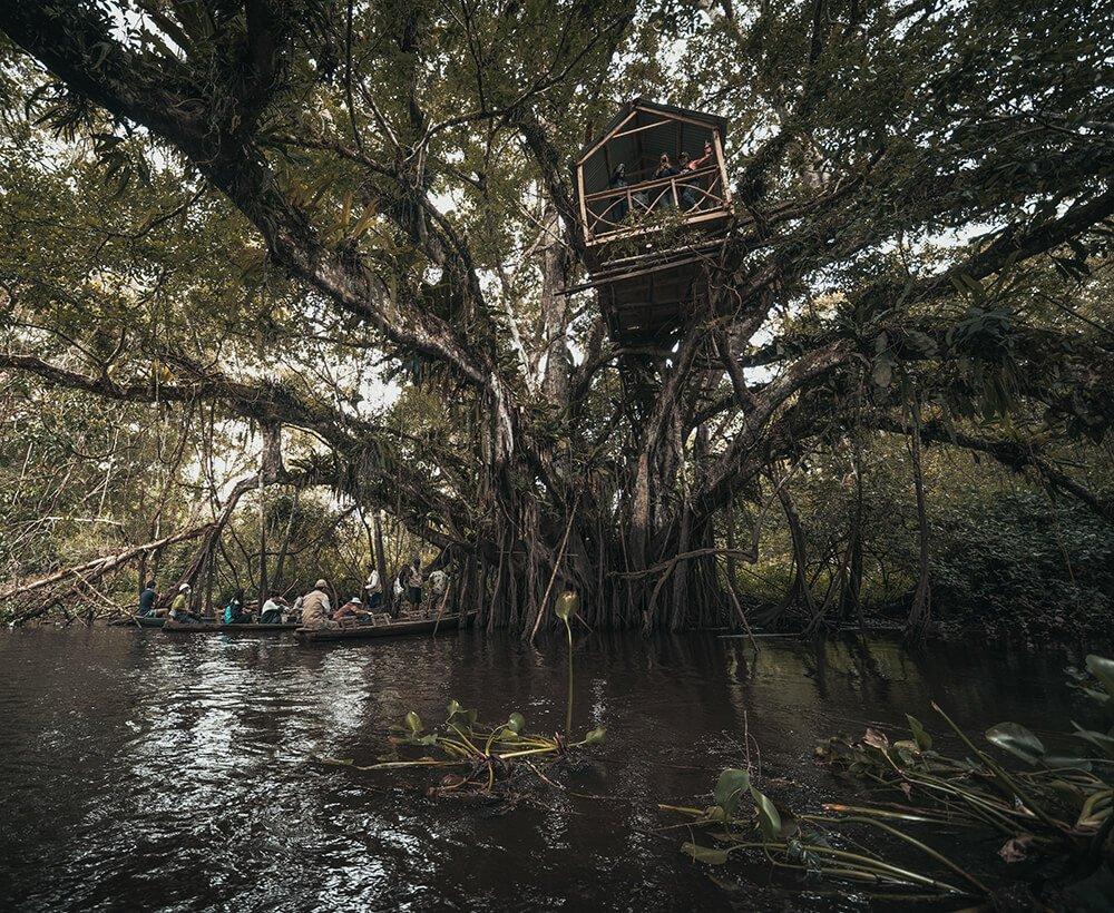 experiential excursion moksha yoga amazonica