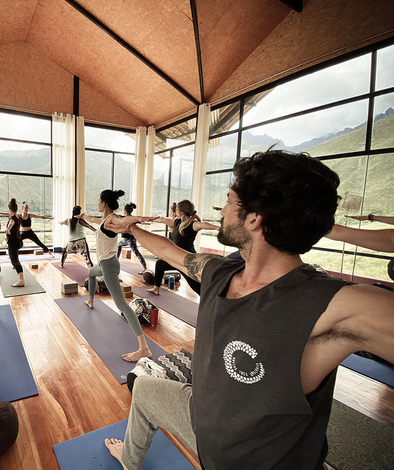 Vincent Roy Hatha Yoga Moksha Yoga Amazonica Sacred Valley